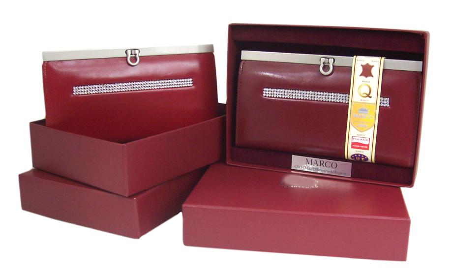 befe18f3ba663 Damskie portfele skórzane, portmonetki, kopertówki, zamykana biglem lub  klapką na zatrzask, duży wybór kolorów