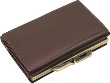 26ccf24597f92 Elegancki skórzany portfel damski na bigiel