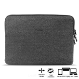 "Etui na laptop, PURO Uni Slim Secure Sleeve - Pokrowiec MacBook Pro 13"" Retina / Ultrabook 13"" - Szary"