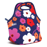 Torebka na lunch marki BUILT wzór Gourmet Getaway Lunch Tote, Lush Flower