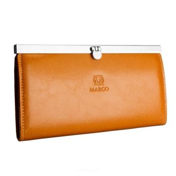 870506f53aa2e Elegancki portfel damski z biglem